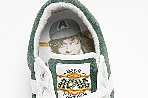 "Converse AC/DC: ""High Voltage"" All Star Chucks"
