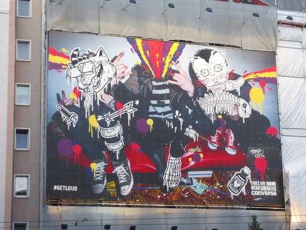 Converse Citylights in Berlin in der Chausseestrasse