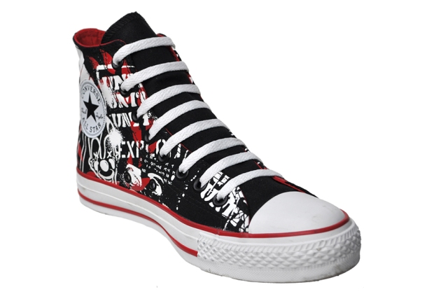 Converse Chucks 110786 Street Art Limited Edition
