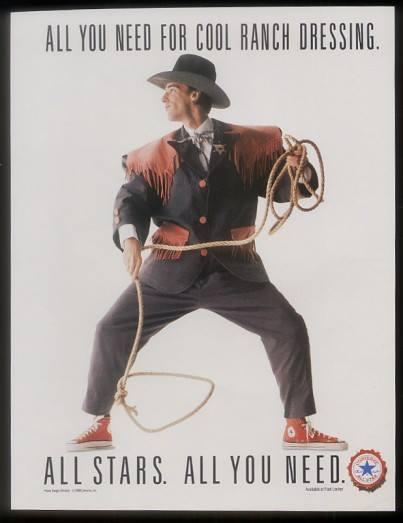 Vintage #Converse Chuck Taylor All Star Chucks Poster