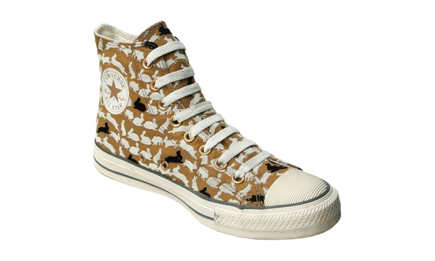 Converse Schuhe All Star Chucks 100048 Gold Beige Bunnies