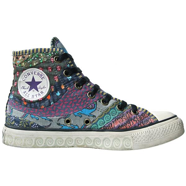 Converse Schuhe All Star Chucks 102966 Patchwork Hippie Design