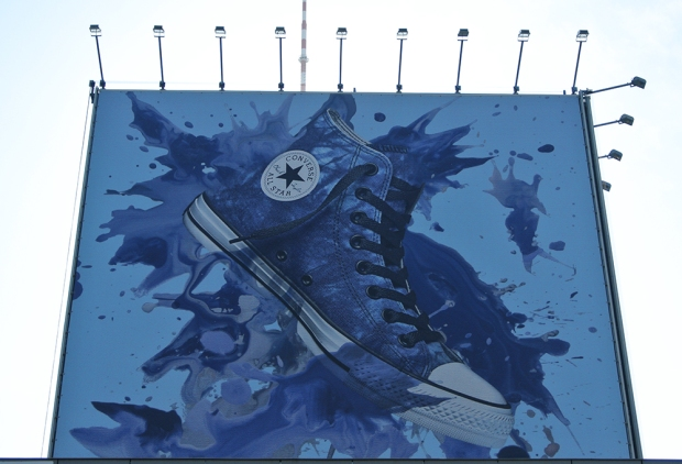 Converse Citylights 2014 am Alexanderplatz in Berlin