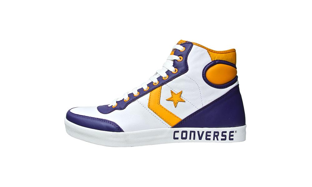 Converse Chucks 106036 Fastbreak Leder Lila Gelb Weiß – L.A.