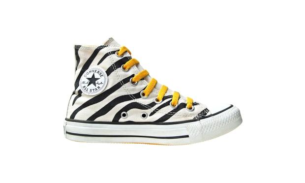 Converse Schuhe All Star Chucks 131084 Zebra Print  Hi Cut