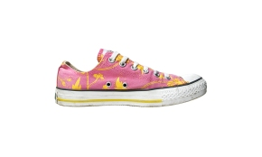 Converse Chuck Taylor All Star Chucks OX (Oxford) 1X153 Pink Gelb Flowers Orchid Low © Holger Dölle