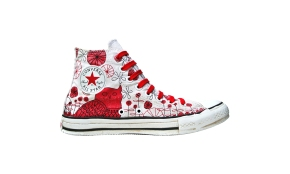 Converse Chucks Amy Ruppel Limited Red Edition Schuhe