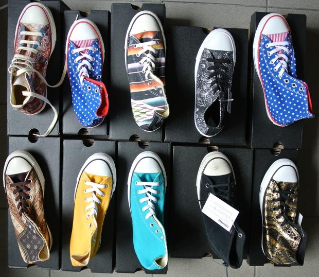 fresh Converse Chucks 08.2014