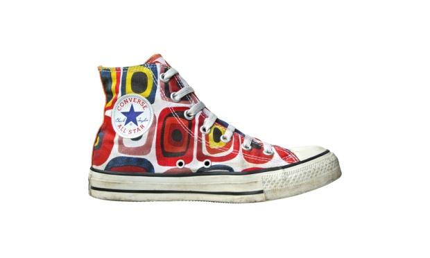 Converse Chucks 1Q892 Hippie Design © Holger Dölle