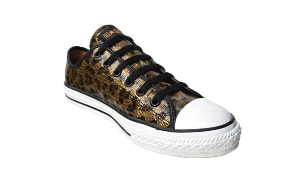 Converse Chucks 514187 Glitzer Leopard