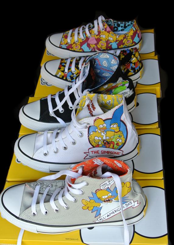 Converse The Simpsons Chucks